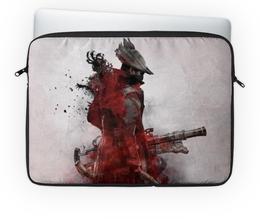 """Чехол для ноутбука 14'' """"Охотник (Bloodborne)"""" - bloodborne"""