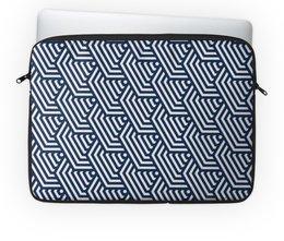 """Чехол для ноутбука 14"""" """"Геометрический"""" - рисунок, стиль, узор, геометрический, абстрактный"""