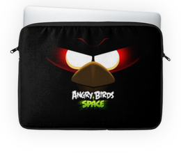 "Чехол для ноутбука 14'' ""Space (Angry Birds)"" - space, игра, мультфильм, птица, angry birds"