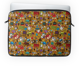 """Чехол для ноутбука 14"""" """"Stickers"""" - арт, дизайн, графика, стиль"""