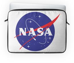 "Чехол для ноутбука 14"" ""NASA | НАСА"" - вселенная, космос, наука, the spaceway, space"