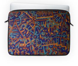 "Чехол для ноутбука 14'' ""y7t6ggjlla11zzz"" - арт, узор, абстракция, фигуры, текстура"