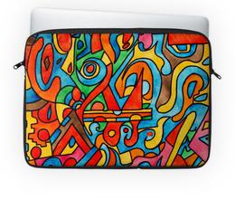 """Чехол для ноутбука 14'' """"CC2='9990999"""" - арт, узор, абстракция, фигуры, текстура"""
