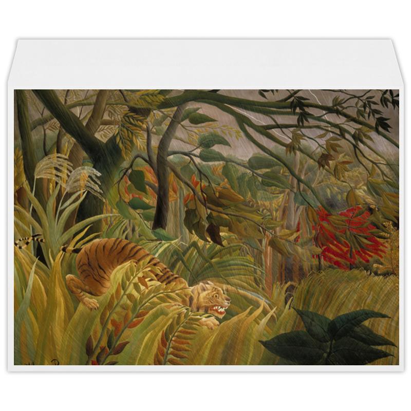 Printio Нападение в джунглях (картина анри руссо) в джунглях