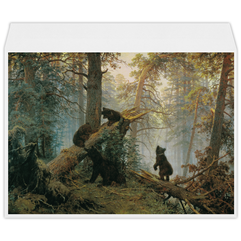 Printio Утро в сосновом лесу (иван шишкин) футболка с полной запечаткой мужская printio утро в сосновом лесу