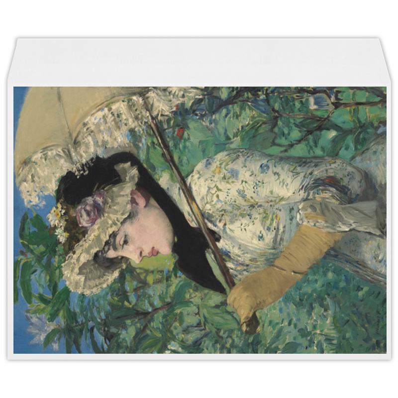 Printio Жанна (весна) (картина эдуарда мане)
