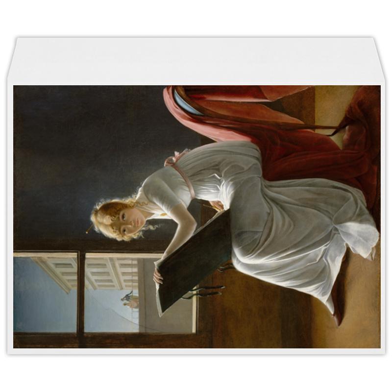 Printio Портрет молодой женщины (мари-дениз вильер)