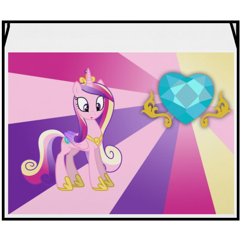 Конверт большой С4 Printio Princess cadence color line самсунг гэлакси с4 мини купить