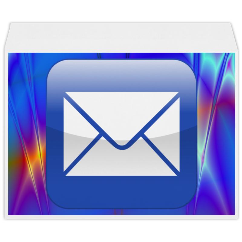 Конверт большой С4 Printio E mail слюнявчик printio e mail
