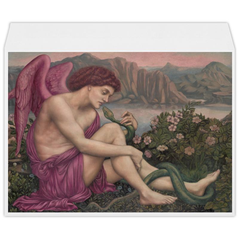 Printio Ангел и змея (эвелин де морган) морган райс земля огня