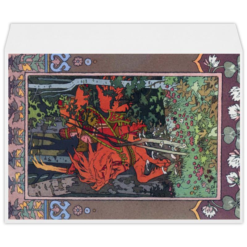 Printio Красный всадник (иван билибин) кружка printio сказке об иван царевиче иван билибин