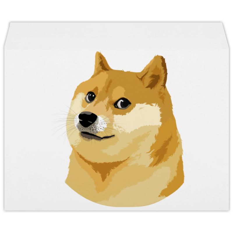 Конверт большой С4 Printio Doge doge самсунг гэлакси с4 мини купить