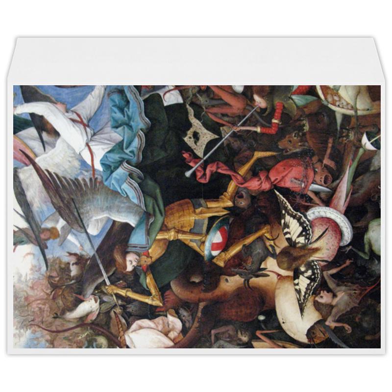 Printio Архангел михаил (картина брейгеля) россия икона архангел михаил