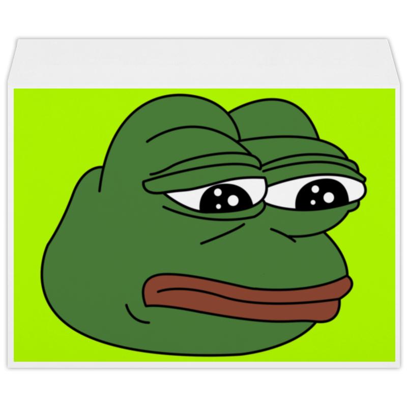 Конверт большой С4 Printio Грустная лягушка самсунг гэлакси с4 мини купить
