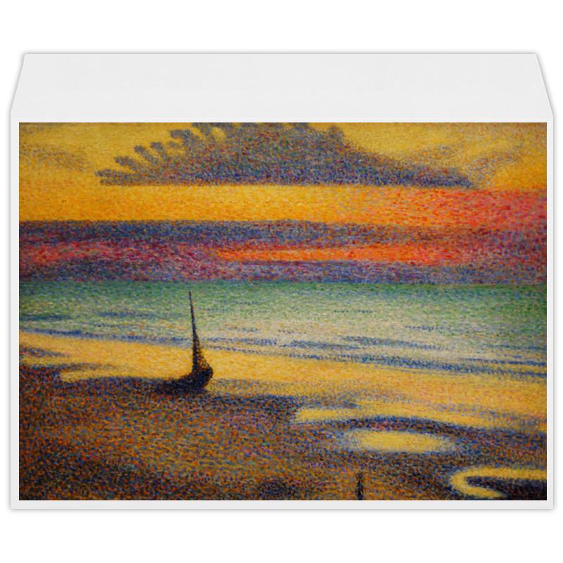 Printio Пляж в хейсте (жорж леммен)