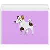 """Конверт большой С4 """"ДЖЕК РАССЕЛ.СОБАКА"""" - майкл джексон, щенок, собака, животное, рассел"""