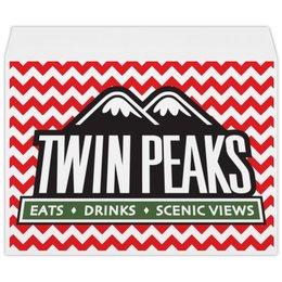 """Конверт большой С4 """"Твин Пикс"""" - twin peaks, твин пикс, дэвид линч, david lynch"""
