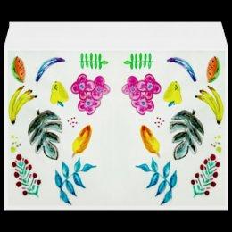 """Конверт большой С4 """"Фрукты"""" - счастье, лето, арбуз, цветы, фрукты"""