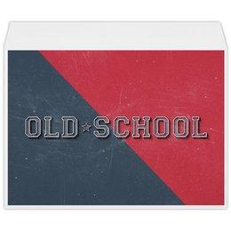 "Конверт большой С4 ""Old School Style"" - арт, style, стиль, олд скул, old school"