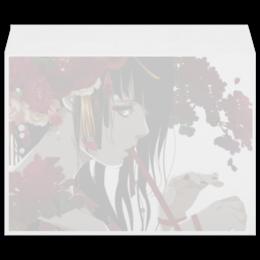 """Конверт большой С4 """"Японская гейша"""" - девушка, цветы, рисунок, гейша, япония"""