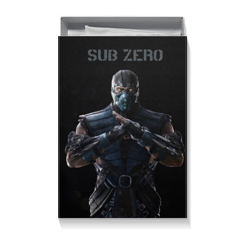Коробка для футболок Printio Mortal kombat x (sub-zero) видеоигра для ps4 mortal kombat x