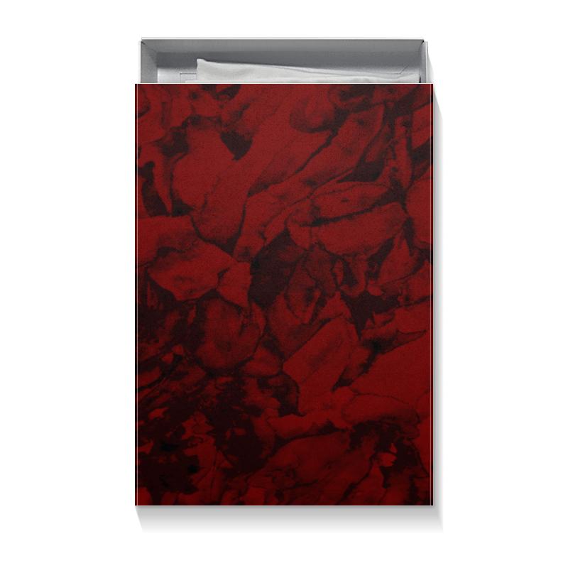 Коробка для футболок Printio Абстракция из лепестков цветов для презентации цветок с надписями из семи лепестков