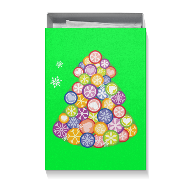 Коробка для футболок Printio Елочка очаровашка морская фея фруктовый мармелад с игрушкой 10 г