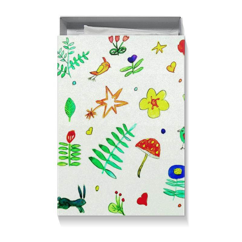 Коробка для футболок Printio Подарочная финская тема