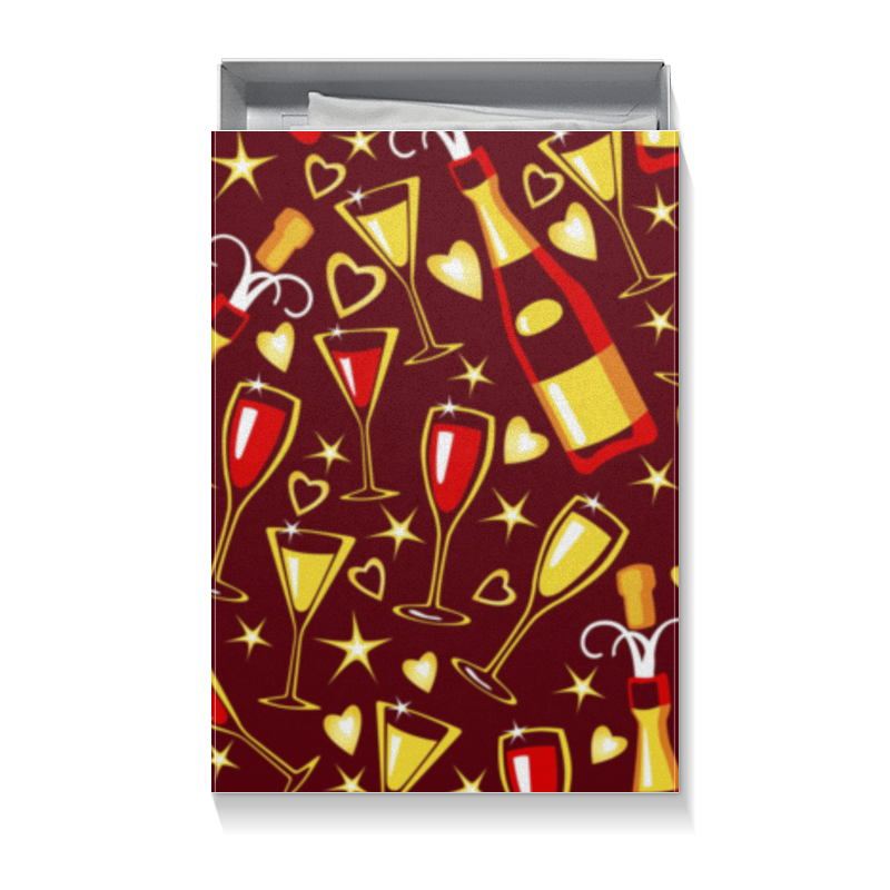 Коробка для футболок Printio Праздник медовая серия peroni энерджи premium 4 x 30 мл