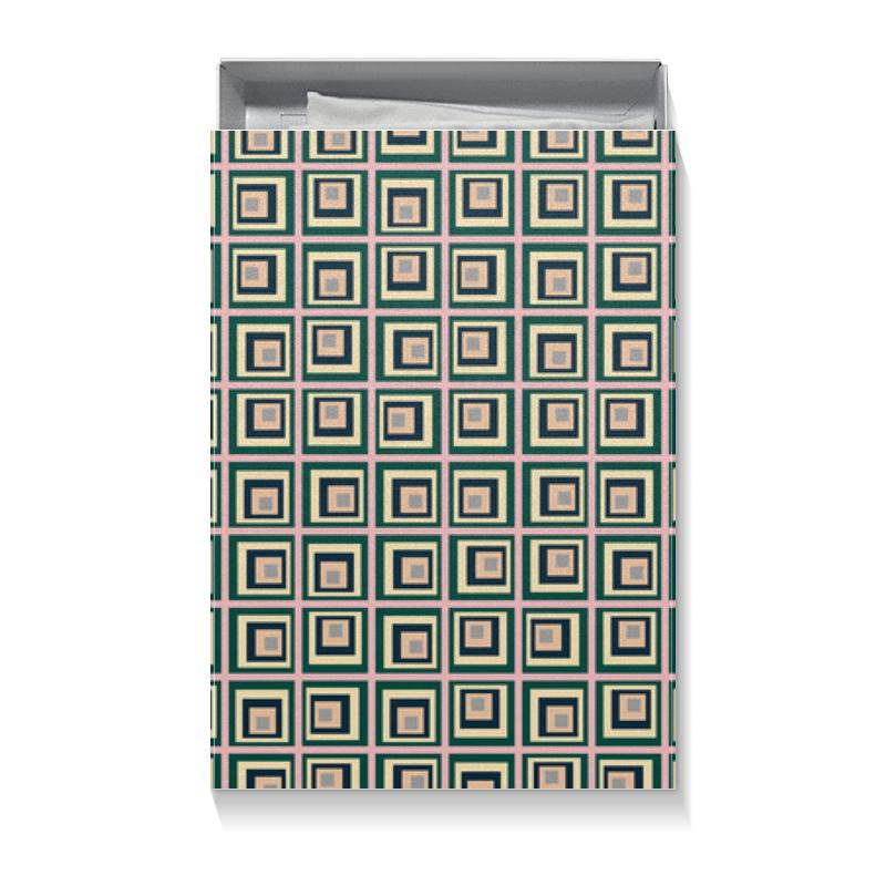 Коробка для футболок Printio Квадраты шоколадка 35х35 printio квадраты