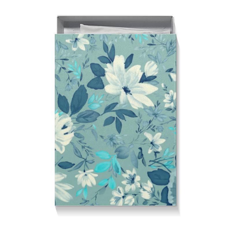 Коробка для футболок Printio Цветы эмпрана подарок впечатление другой ритм