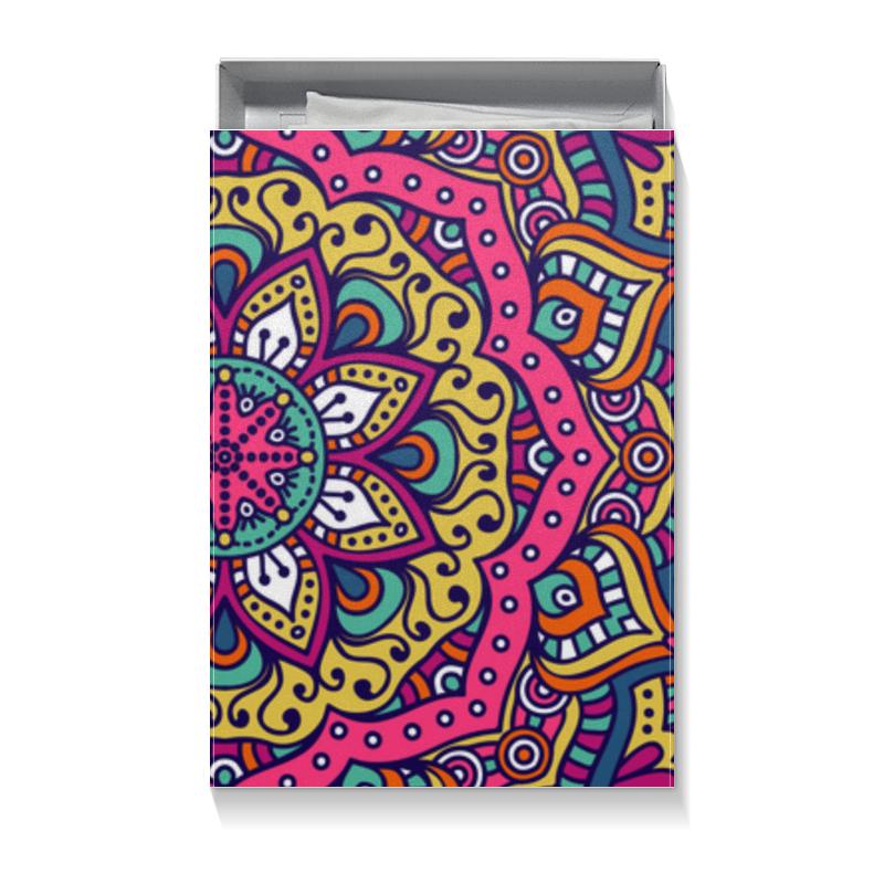 Коробка для футболок Printio Мандала giftman трафарет мандала 16 21х21см