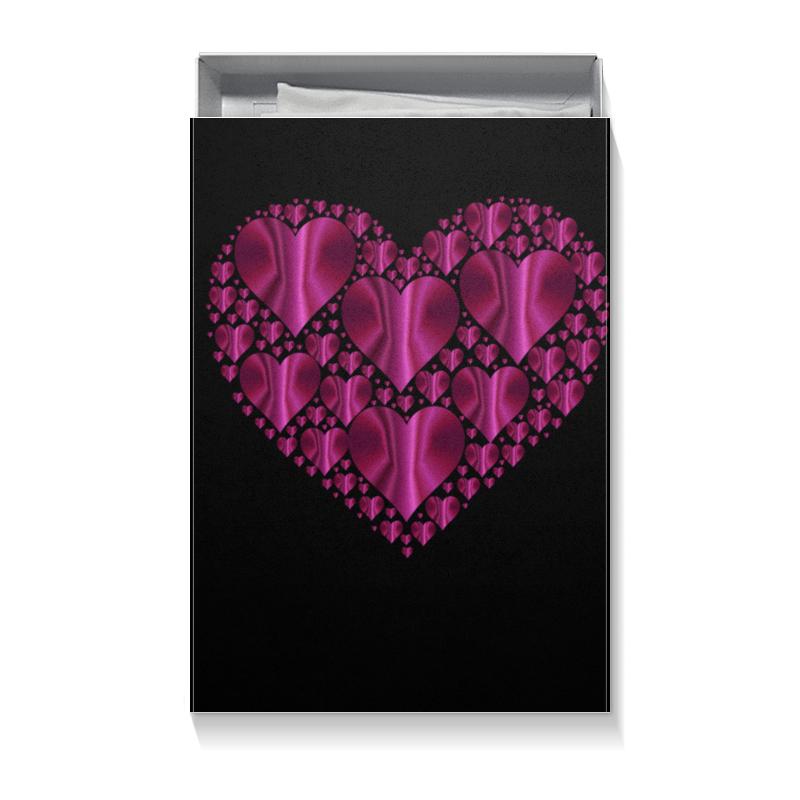 Коробка для футболок Printio Сердце