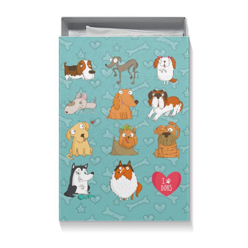 Printio Собаки коробка для футболок printio рождество