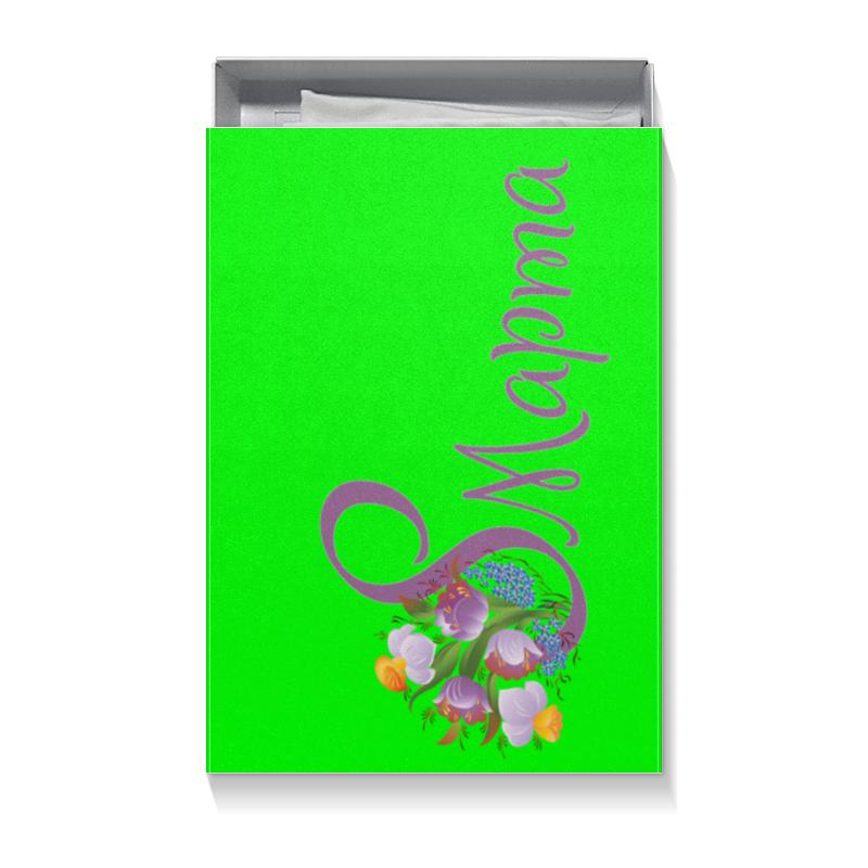 Коробка для футболок Printio 8 марта коробка для футболок printio цветочная