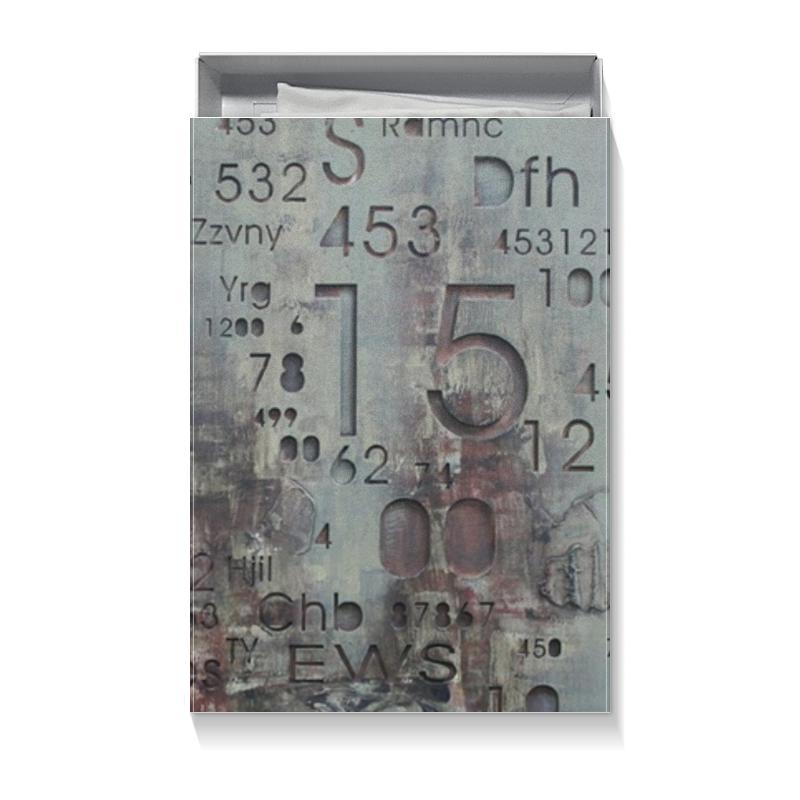 Коробка для футболок Printio Цифры коробка для футболок printio микки