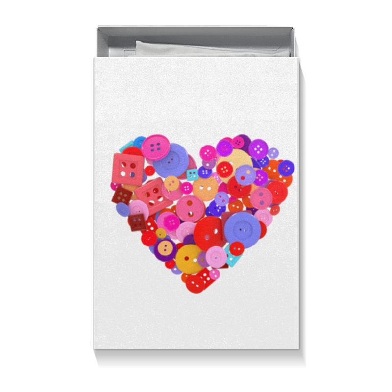 Коробка для футболок Printio День всех влюбленных коробка для футболок printio вальс влюбленных