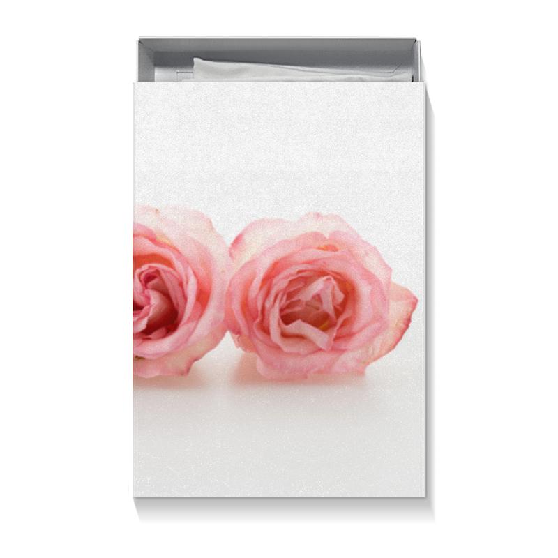 Коробка для футболок Printio Нежные розы розы для любимой