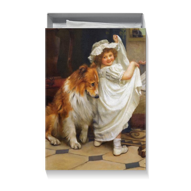 Коробка для футболок Printio Картина артура элсли подарочная коробка большая пенал printio картина артура элсли