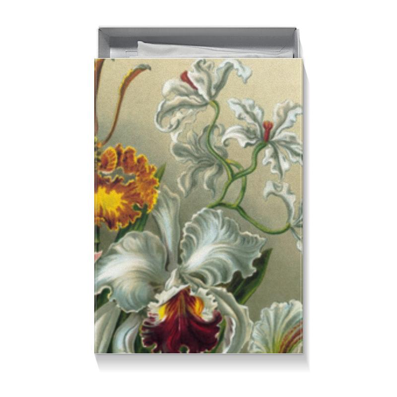 Подарочная коробка большая (пенал) Printio Орхидеи для любимой chokocat любимой маме открытка с шоколадом 20 г