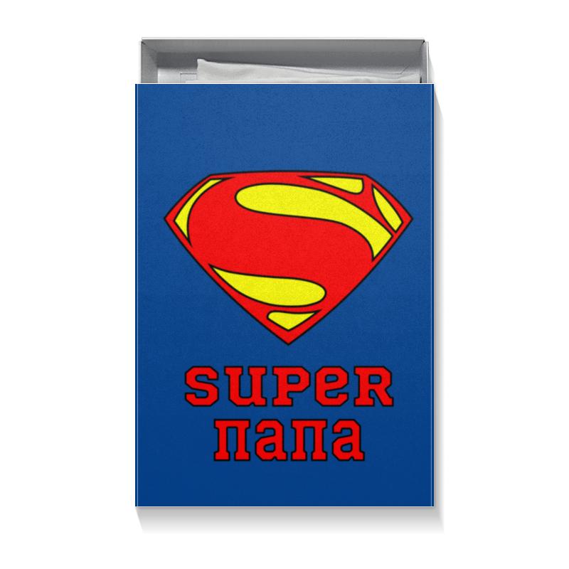 Коробка для футболок Printio Супер папа коробка для футболок printio бананы