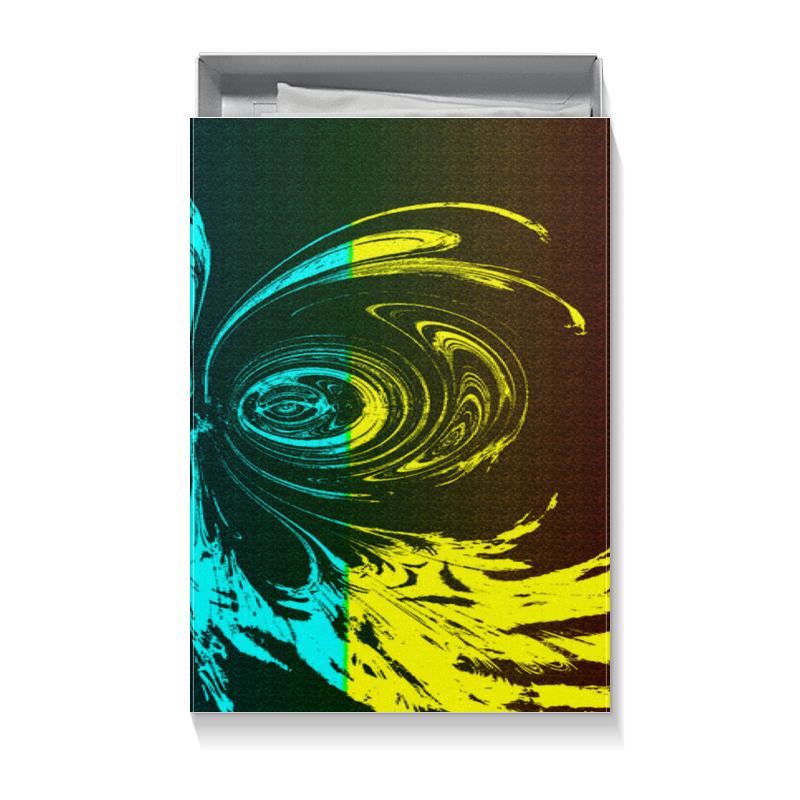 Коробка для футболок Printio Многоцветная обрезка буквенных патчей многоцветная вышивка кружева аппликация diy аксессуар