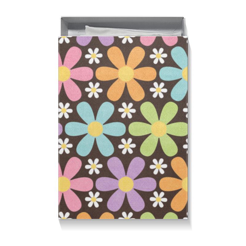 Коробка для футболок Printio Цветы