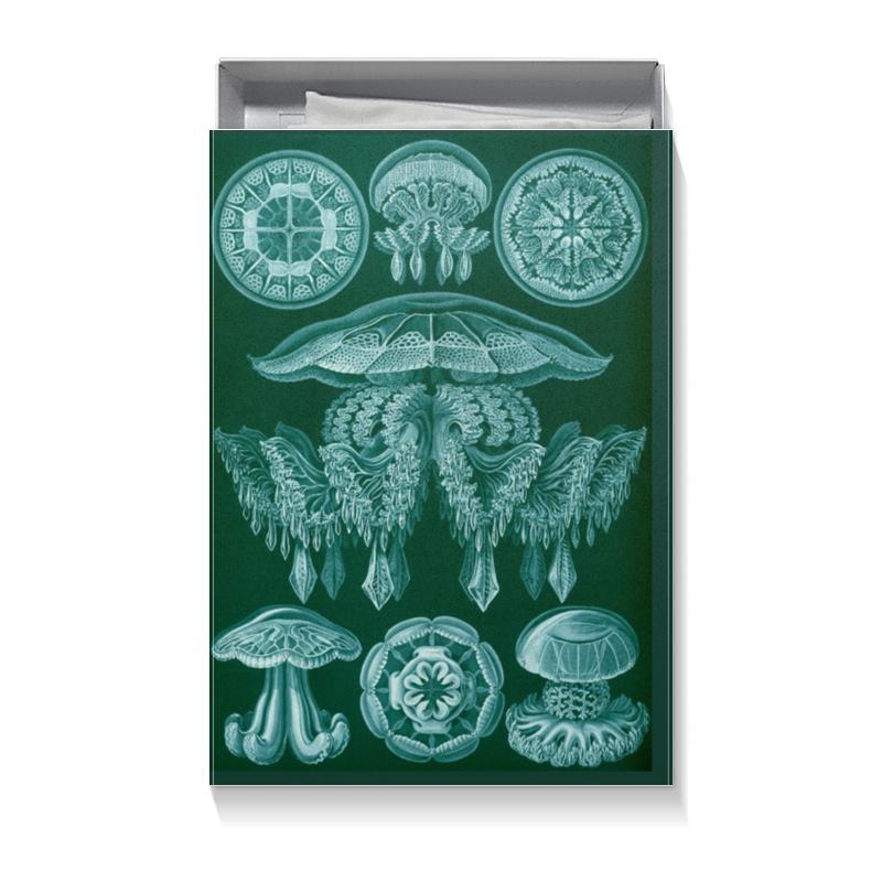 Коробка для футболок Printio Цвета морской волны чехол для ноутбука 14 printio морской бой
