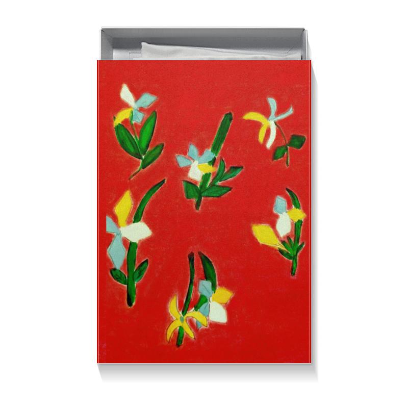 Коробка для футболок Printio Весна, весна подарочная коробка куб printio весна весна