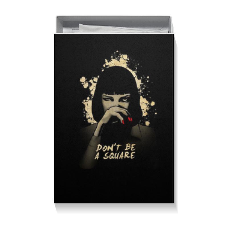 Коробка для футболок Printio Pulp fiction (ума турман) цена
