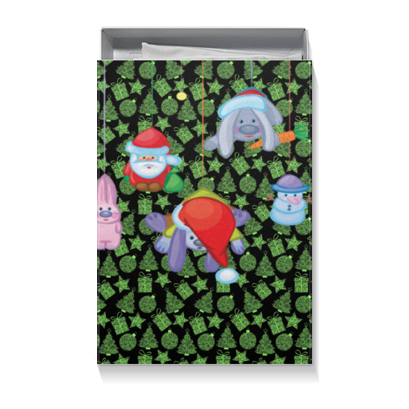 Фото - Коробка для футболок Printio Новый год худи print bar новый год 2017