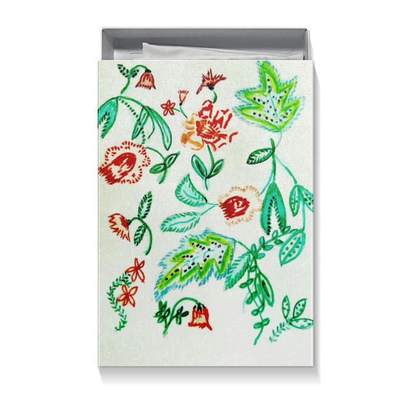 Коробка для футболок Printio Дикие цветы vitalat сыр перлини 40% копченый 100 г