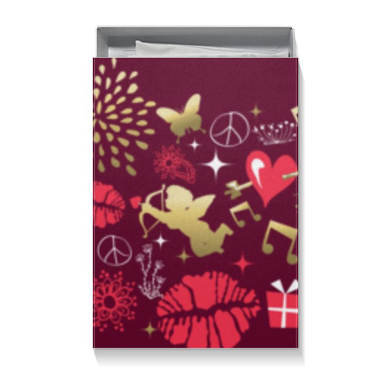 Коробка для футболок Printio Валентинка чехол для iphone 7 глянцевый printio сланцы