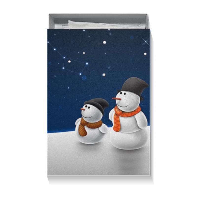 Коробка для футболок Printio Новый год prosto ассорти рис и греча в пакетиках для варки 8 шт по 62 5 г
